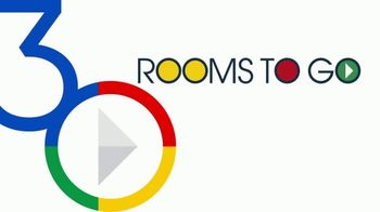 Rooms to Go 30th Anniversary Sale TV Spot, 'Cindy Crawford Home Five-Piece Dining Set' Song by Junior Senior - Thumbnail 1