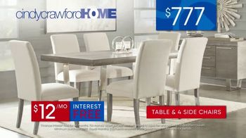 Rooms to Go 30th Anniversary Sale TV Spot, 'Cindy Crawford Home Five-Piece Dining Set' Song by Junior Senior - Thumbnail 8