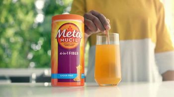 Metamucil TV Spot, 'Sluggish or Weighed Down: Fiber Thins'