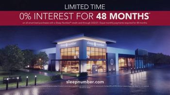 Sleep Number 360 Smart Bed TV Spot, 'Introducing: 0% Interest for 48 Months' - Thumbnail 7