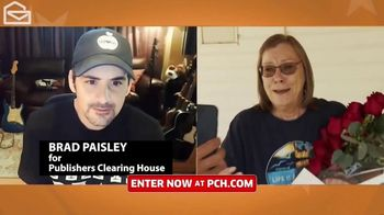 Publishers Clearing House TV Spot, 'Win $7,000 a Week' Featuring Brad Paisley