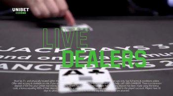 Unibet Live Casino TV Spot, 'Anytime, Anywhere: $10 Free' - Thumbnail 3