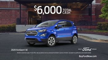 2020 Ford EcoSport TV Spot, 'Get a Ford: Brand Loyalty' [T2] - Thumbnail 9