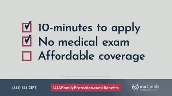 USA Family Protection Insurance Services TV Spot, 'Funeral Costs' - Thumbnail 4
