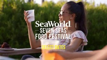 SeaWorld TV Spot, 'Seven Seas Food Festival: $66.99 for Two-Park Ticket' - Thumbnail 3