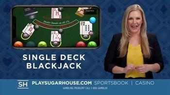 SugarHouse TV Spot, 'Blackjack: $250 Match Bonus'