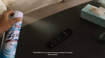 Lysol TV Spot, 'Comfortable Everywhere' - Thumbnail 8