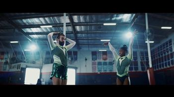 Uber Eats TV Spot, 'Tumble' Feat. Simone Biles, Jonathan Van Ness, Song by C+C Music Factory