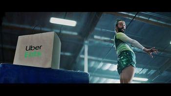 Uber Eats TV Spot, 'Splitsies' Feat. Jonathan Van Ness, Simone Biles, Song by C+C Music Factory - Thumbnail 4