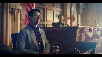 Dr Pepper TV Spot, 'Fansville: Courtroom Hi-Jinx' Featuring Brian Bosworth