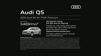 2020 Audi Q5 TV Spot, 'Drain' [T2] - Thumbnail 6