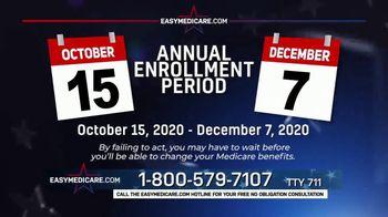 easyMedicare.com TV Spot, 2021 Medicare Benefits Update' Featuring Joe Theismann