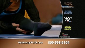 Copper Fit Energy Plus Compression Socks TV Spot, 'Micro-Encapsulated Ingredients: 2nd Pair Free' - Thumbnail 8