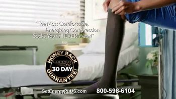 Copper Fit Energy Plus Compression Socks TV Spot, 'Micro-Encapsulated Ingredients: 2nd Pair Free' - Thumbnail 7