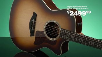 Guitar Center Guitar-A-Thon TV Spot, 'Taylor Special-Edition and Mitchell Ukuleles'