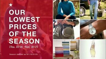 Macy's TV Spot, 'Lowest Prices of the Season: Shoes and Kitchen Appliances' - Thumbnail 1