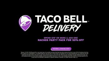 Taco Bell Nachos Party Pack TV Spot, 'Delivery: Spend and Add More' - Thumbnail 6