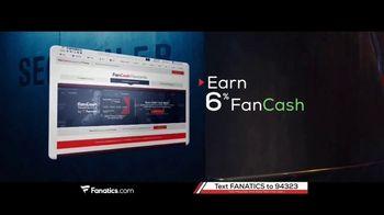 Fanatics.com Rewards Card TV Spot, 'Earn 6%'