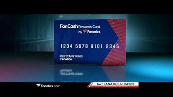 Fanatics.com Rewards Card TV Spot, 'Earn 6%' - Thumbnail 1