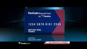 Fanatics.com Rewards Card TV Spot, 'Earn 6%' - Thumbnail 2