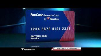 Fanatics.com Rewards Card TV Spot, 'Earn 6%' - Thumbnail 3