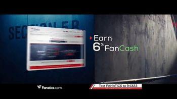 Fanatics.com Rewards Card TV Spot, 'Earn 6%' - Thumbnail 4