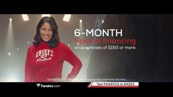 Fanatics.com Rewards Card TV Spot, 'Earn 6%' - Thumbnail 8