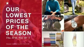Macy's TV Spot, 'Lowest Prices of the Season: Jewelry and Bedding' - Thumbnail 1