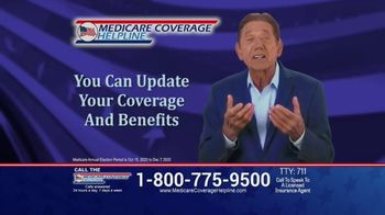 Medicare Coverage Helpline TV Spot, \'One of the Only Days\' Featuring Joe Namath
