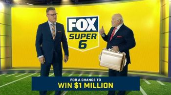 FOX Sports Super 6 NFL Sunday Challenge TV Spot, 'Win Terry's Money: $1 Million' Feat. Terry Bradshaw, Howie Long - 290 commercial airings