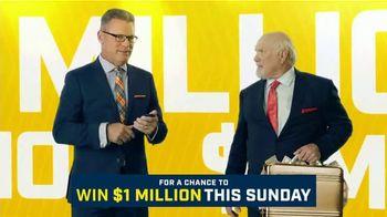 FOX Sports Super 6 NFL Sunday Challenge TV Spot, 'Win Terry's Money: $1 Million' Feat. Terry Bradshaw, Howie Long - Thumbnail 5