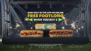 Subway TV Spot, 'Buffalo & BBQ Chicken: Footlong Season' - Thumbnail 8
