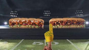 Subway TV Spot, 'Buffalo & BBQ Chicken: Footlong Season' - Thumbnail 3