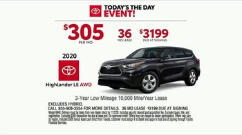 Toyota Today's the Day Event TV Spot, 'Hybrid Power' Song by Elvis Presley [T2] - Thumbnail 3