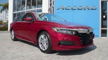 Honda Model Year End Sale TV Spot, 'In Stock: Accord' [T2] - Thumbnail 4
