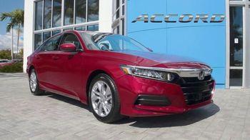 Honda Model Year End Sale TV Spot, 'In Stock: Accord' [T2] - Thumbnail 5