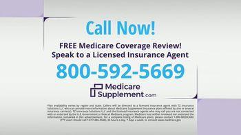 MedicareSupplement.com TV Spot, 'Out-of-Pocket Costs' - Thumbnail 10