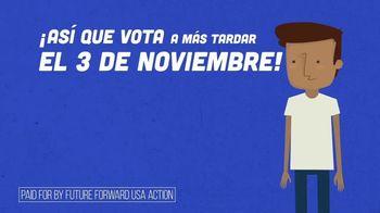 Future Forward USA Action TV Spot, 'Haz un plan para votar' [Spanish] - Thumbnail 6