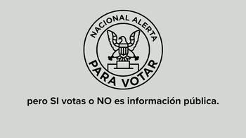 Future Forward USA Action TV Spot, 'Alerta nacional para votar' [Spanish] - Thumbnail 4