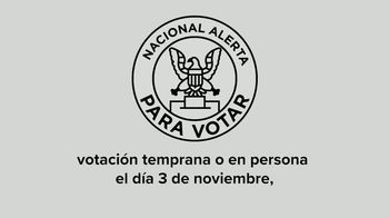 Future Forward USA Action TV Spot, 'Alerta nacional para votar' [Spanish] - Thumbnail 7