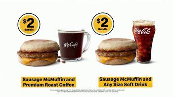 McDonald's $1 $2 $3 Dollar Menu TV Spot, 'Breakfast Smells Too Good to Wait: $2 Bundle' - Thumbnail 9