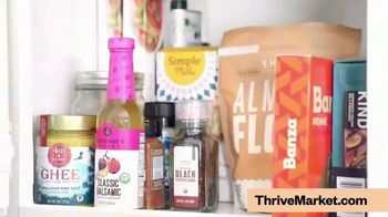 Thrive Market TV Spot, 'Healthy Living Made Easy: Free Gift'