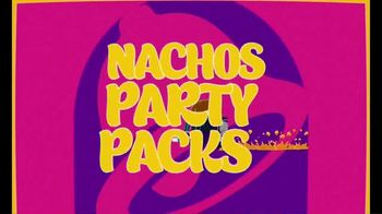Taco Bell Nachos Party Packs TV Spot, 'Student Section: Spirit'