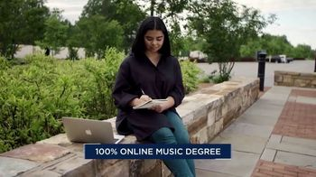 Liberty University School of Music TV Spot, 'Online Music Degree' - Thumbnail 5