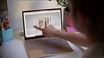Microsoft Surface Go TV Spot, 'Make Any Place Your Workspace' - Thumbnail 7