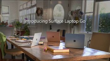 Microsoft Surface Go TV Spot, 'Make Any Place Your Workspace' - Thumbnail 9