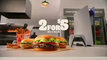 Burger King 2 for $5 Mix N' Match TV Spot, 'With a Side of PS5' - Thumbnail 9