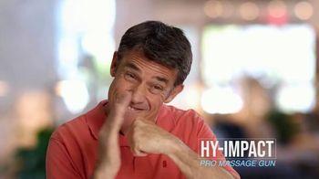 Hy-Impact Pro Massage Gun TV Spot, 'Precisely Calibrated Pulses' - Thumbnail 4