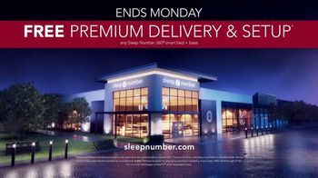 Sleep Number January Sale TV Spot, 'Weekend Special: Save $1,000 and Free Delivery' - Thumbnail 9