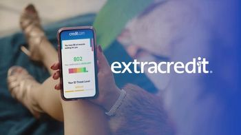 Credit.com Extracredit TV Spot, 'Good to Be Extra: Track It: Free' - Thumbnail 9